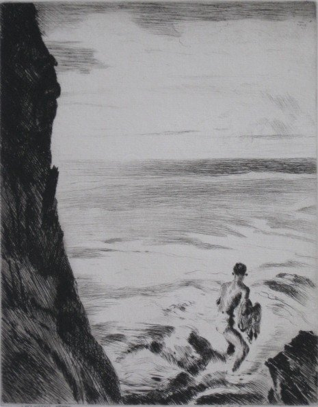 147: John Melville Kelly drypoint