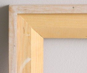 702: Contemporary natural wood frame