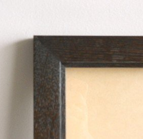 703: Contemporary ebony stained frame
