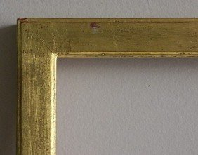710: Rectilinear gilded gallery frame