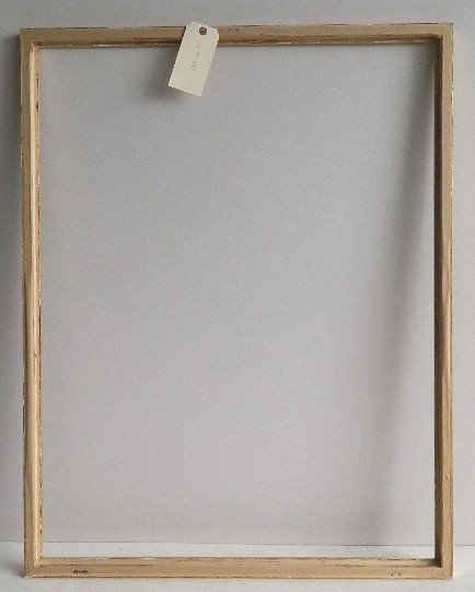 710: Rectilinear gilded gallery frame - 3