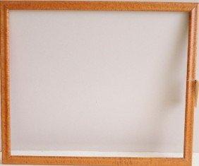 714: Burled wood frame