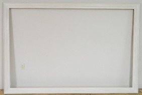 720: White painted gallery frame