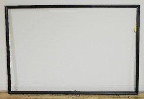 721: Plain wood frame in black