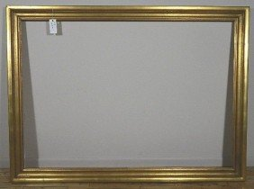 722: Gilded mould made gallery frame
