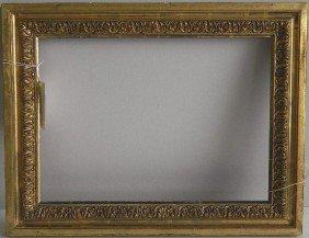 Hand Carved Gilded Frame