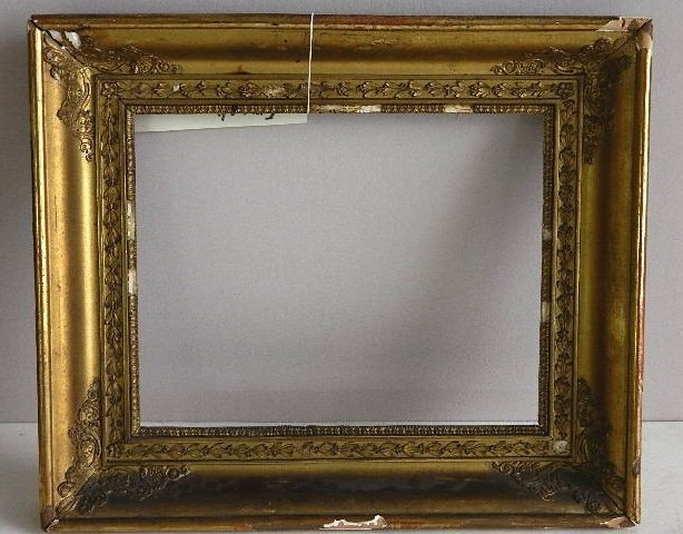 845: Gilded mould made frame