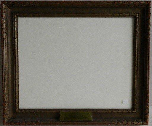 850: Hand carved frame