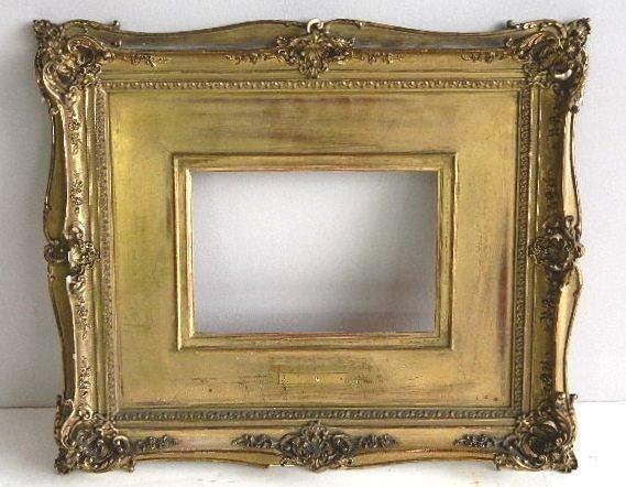855: Gilded mould made frame