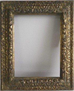 893: Hand carved gilded frame