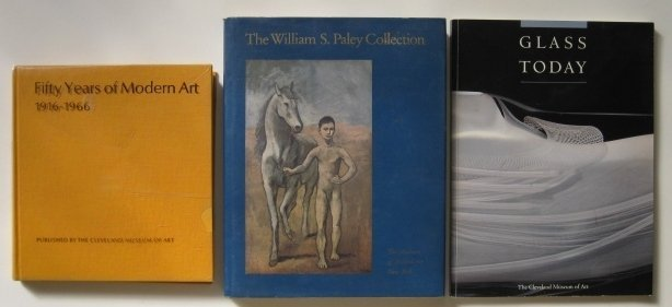 1: 3 books published by Art Museums