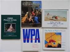 9: 5 books on art