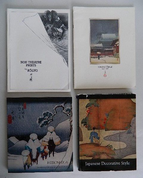 38: 10 books or booklets on Japanese art - 2