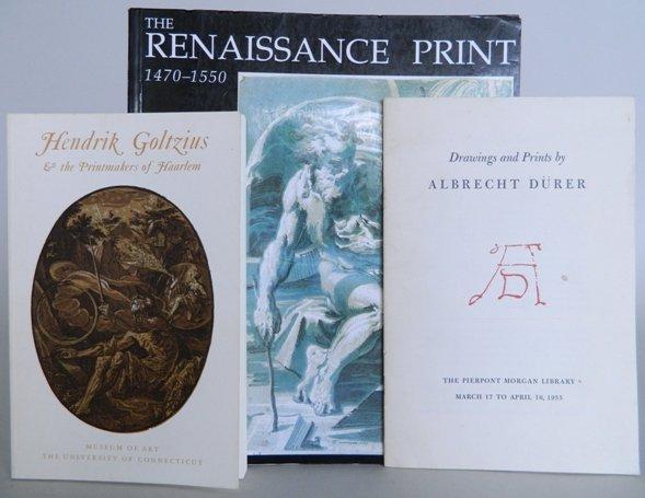 73: 4 exhibition catalogs on Renaissance art