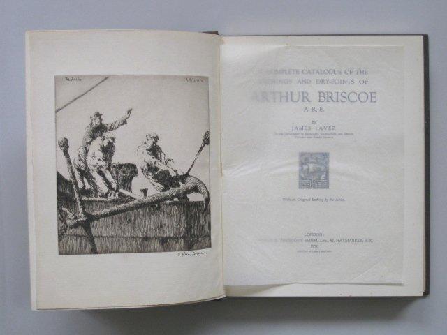79: J. Laver- Catalogue of Prints of Arthur Briscoe