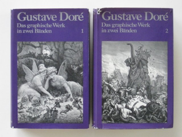 84: Gustave Dore books on his graphic works