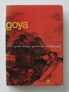 Francisco Goya Book On His Graphic Works