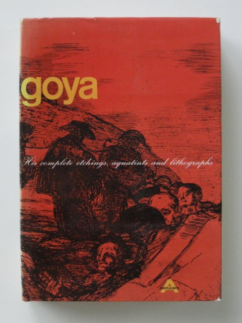 88: Francisco Goya book on his graphic works