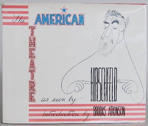 89: 2 books on Al Hirschfeld