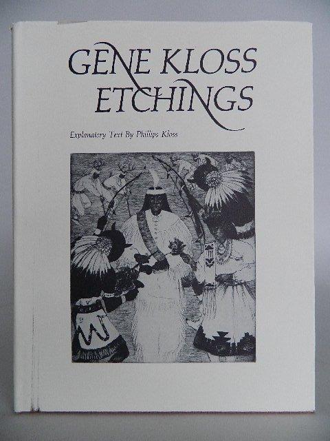 92: Kloss- Gene Kloss etchings