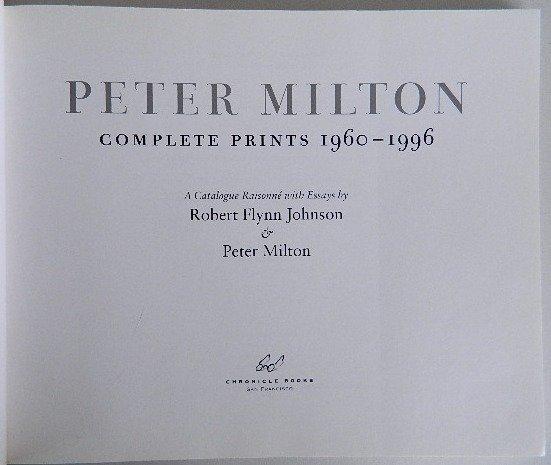 100: Johnson and Milton- Peter Milton Complete Prints - 3