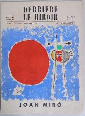 J. Miro- Derriere Le Miroir Edition