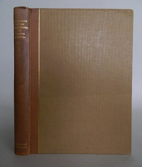 105: Wuerth- The Lithographs of Joseph Pennell- 1931