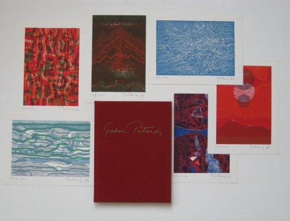 105A: U. Johnson- Gabor Peterdi deluxe catalog raisonne