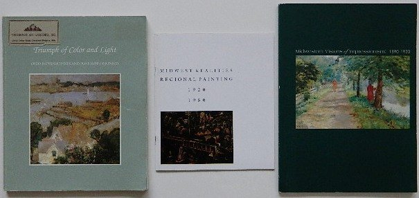 129: 3 American Art exhibition catalogs