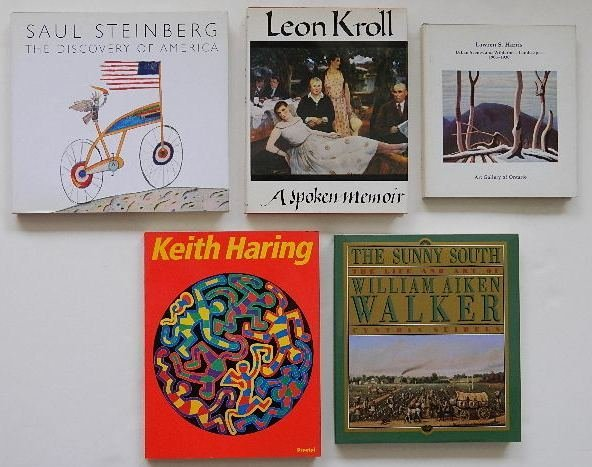 132: 5 books on art