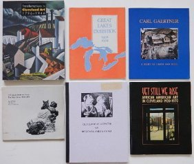 6 Exhibition Catalogs On Cleveland Art