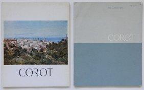 2 Corot Exhibition Catalogs