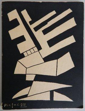 2 Magnelli Exhibition Catalog