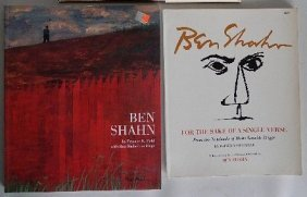 2 Books On Ben Shahn