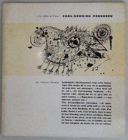 207: Carl Henning Pedersen exhibition catalog