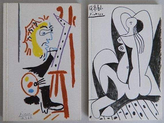 209: 2 Pablo Picasso exhibition catalogs