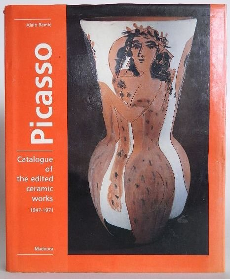 214: Raimie book- Picasso, catalogue of ceramic works