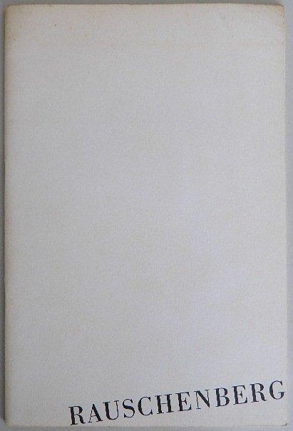 216: 2 Robert Rauschenburg exhibition catalogs - 2