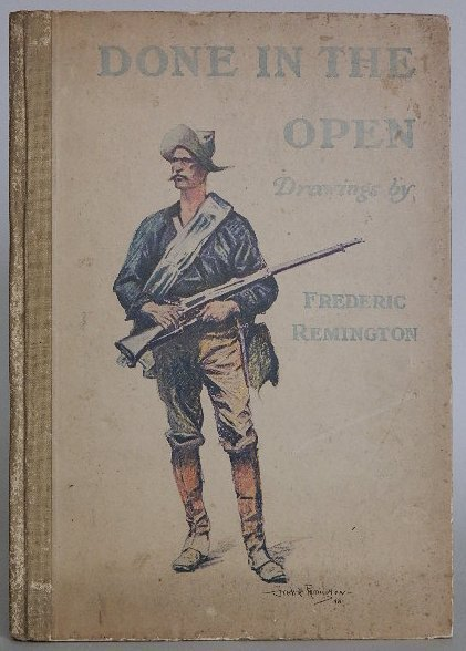 217: Wister book on drawings by Frederic Remington