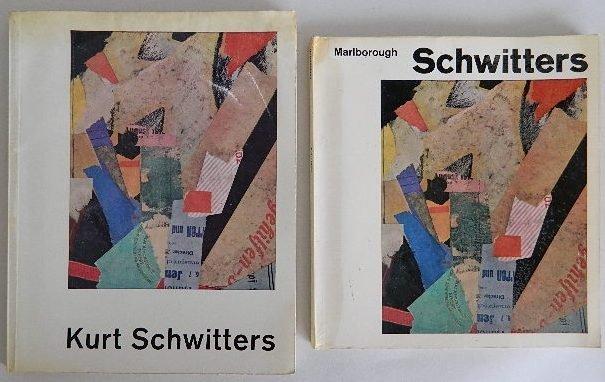 222: 2 Kurt Schwitters exhibition catalogs