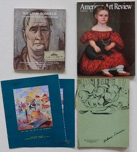 225: 4 exhibition catalog on William Sommer