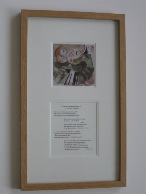 225A: after W. Sommer reproduction with Hart Crane poem