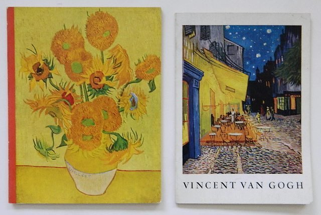 228: 2 Vincent Van Gogh exhibition catalogs