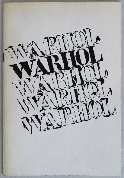 232A: Warhol exhibition catalog with electric chair