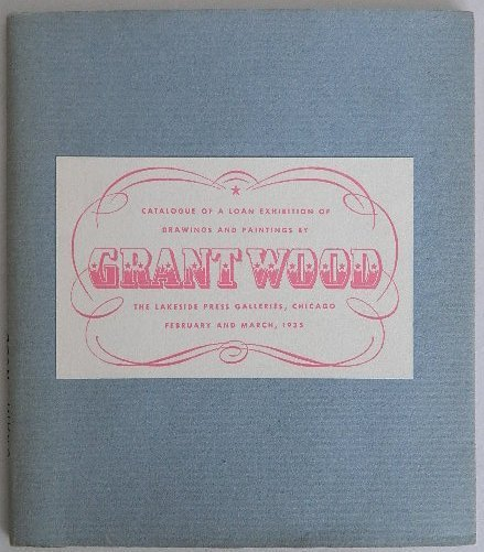 232B: Grant Wood exhibition catalog
