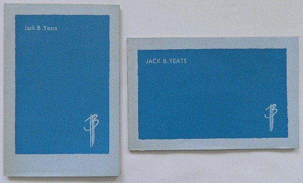 232D: 2 Jack Yeats exhibition catalogs
