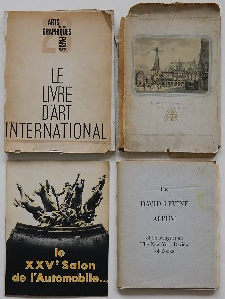 233: David Levine Album of Drawings
