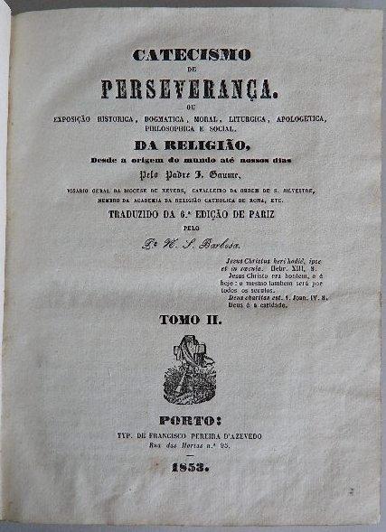 330: Padre- Catecismo De Perseveranca - 3