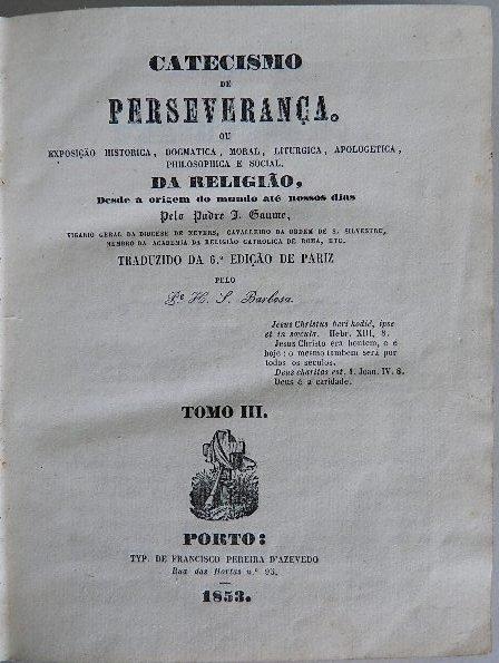 330: Padre- Catecismo De Perseveranca - 4