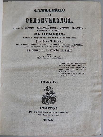 330: Padre- Catecismo De Perseveranca - 5